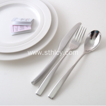 High Quality 5 Piece Stainless Steel Dinnerware Set